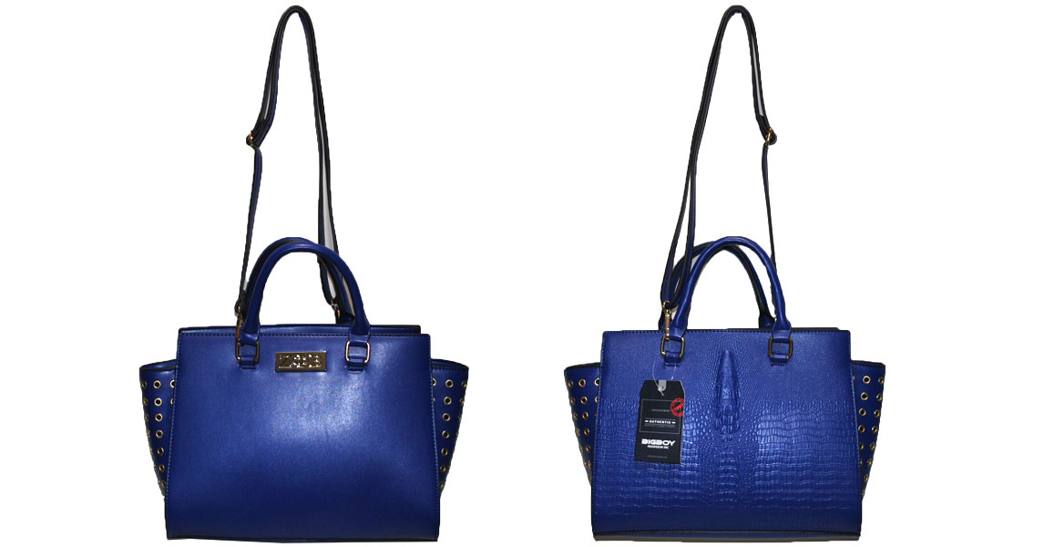 Zeta Phi Beta Leather Handbag